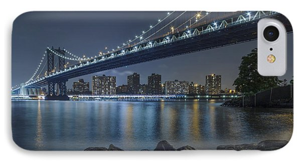 IPhone Case featuring the photograph Mr Manhattan  by Anthony Fields