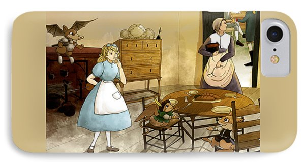 Mrs. Gage's Kitchen IPhone Case by Reynold Jay