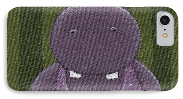 Mrs. Hippo Phone Case by Christy Beckwith