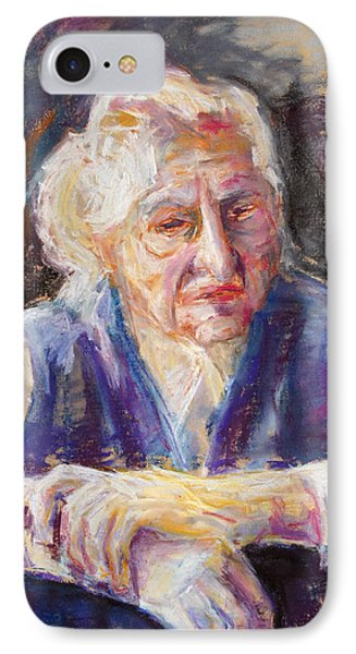 Mrs K. Remembering Phone Case by Barbara Pommerenke