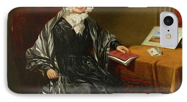 Mrs Louisa Brown IPhone Case by British Library