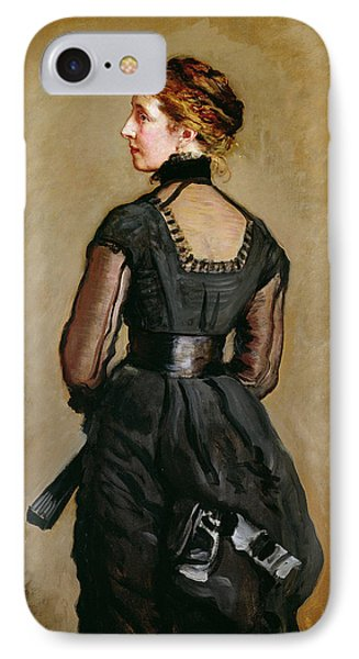 Mrs Perugini, Charles Dickens Second IPhone Case by Sir John Everett Millais