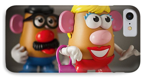 Mrs. Potato Head IPhone Case by Bradley R Youngberg