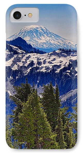 Mt Adams IPhone Case by Ken Stanback