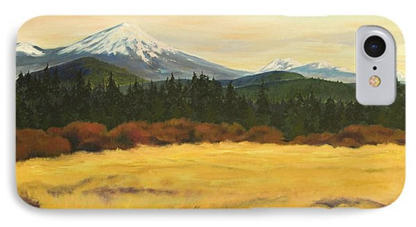 Mt. Bachelor Phone Case by Donna Drake