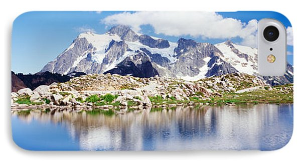 Mt Baker Snoqualmie National Forest Wa IPhone Case by Panoramic Images