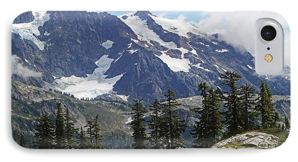 Mt Baker Washington View IPhone Case by Tom Janca