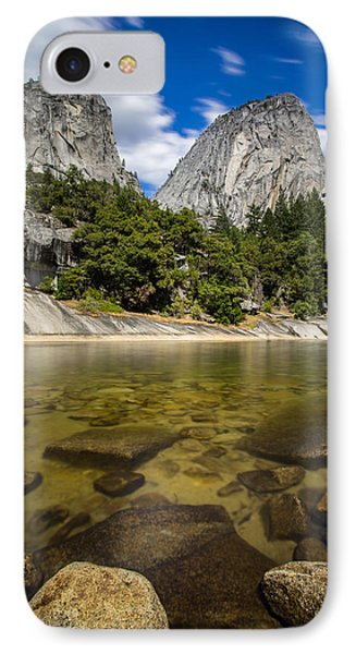Mt. Broderick And Liberty Cap IPhone Case by Mike Lee