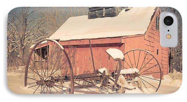 Mt. Cube Farm Old Sugar Shack IPhone Case