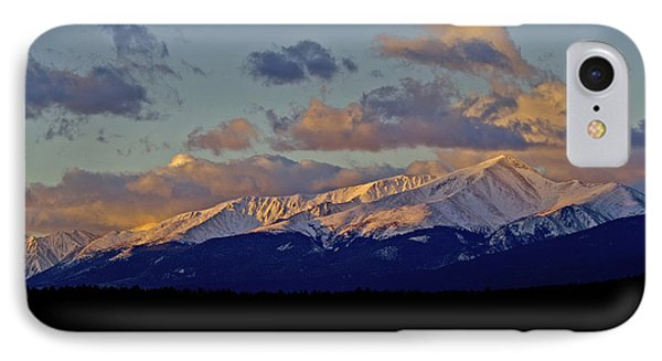 Mt Elbert Sunrise Phone Case by Jeremy Rhoades