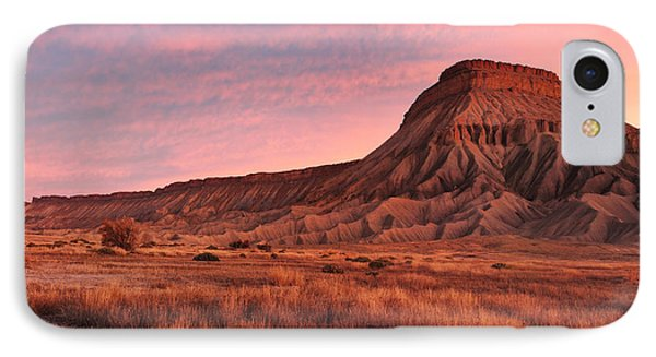 IPhone Case featuring the photograph Mt Garfield Sunrise by Ronda Kimbrow