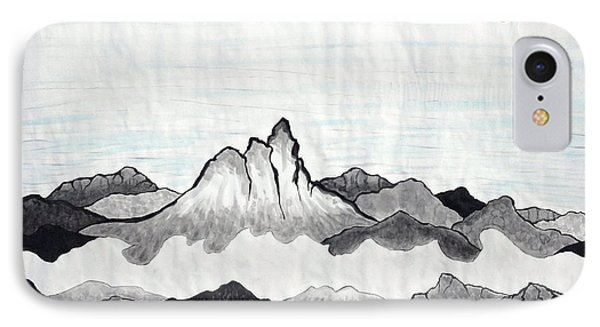 Mt. Himang Phone Case by Taikan Nishimoto