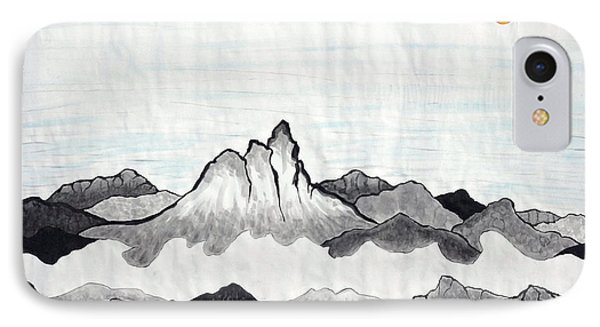 Mt. Himang IPhone Case