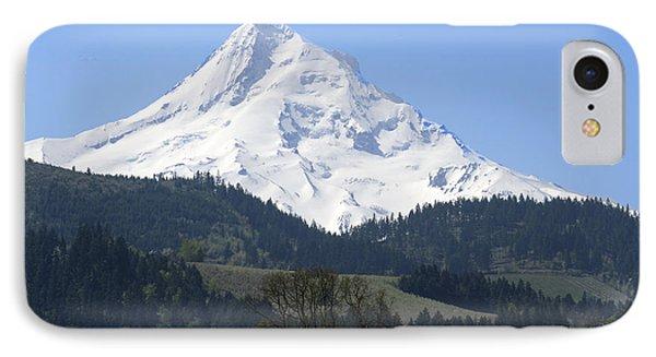 Mt Hood IPhone Case by Elvira Butler