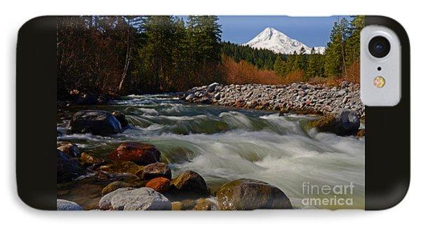 Mt. Hood Landscape IPhone Case by Nick  Boren