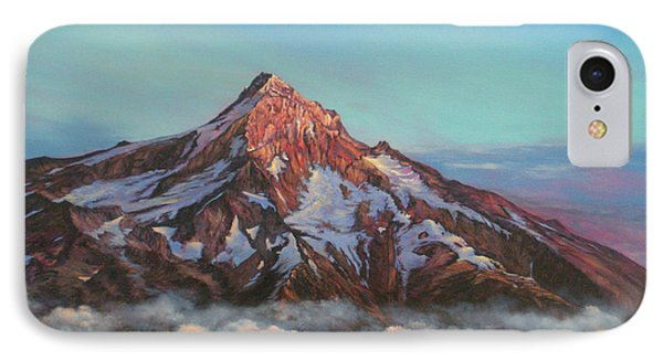 Mt Hood North Face IPhone Case by Jeanette French