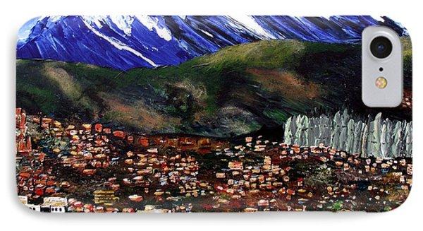 Mt Illimani La Paz Bolivia IPhone Case