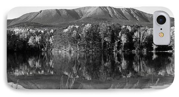 Mt Katahdin Black And White IPhone Case