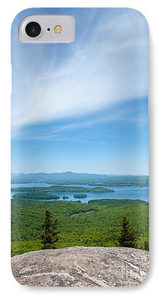 Mt Major View IPhone Case by Sharon Seaward