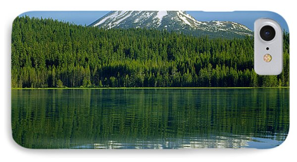 1m5705-h-mt. Mcloughlin From Lake Of The Woods IPhone Case