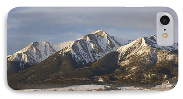Mt. Princeton Sunrise IPhone Case by Aaron Spong