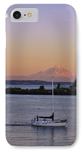 Mt. Rainier Afterglow IPhone Case