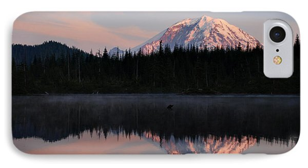 IPhone Case featuring the photograph Mt. Rainier From Surprise Lake by Kjirsten Collier
