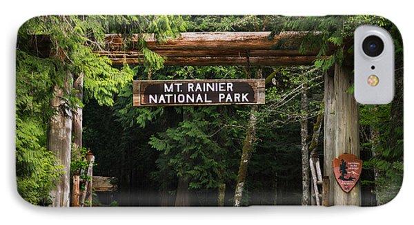 Mt Rainier Gateway IPhone Case by Steve Gadomski