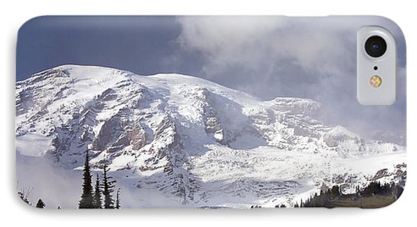 IPhone Case featuring the photograph Mt Rainier  by Greg Reed