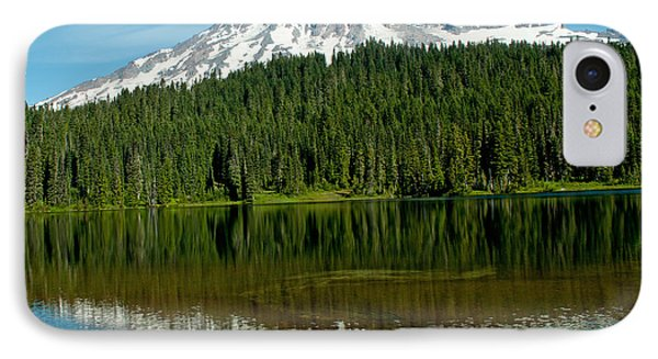 IPhone Case featuring the photograph Mt. Rainier II by Tikvah's Hope