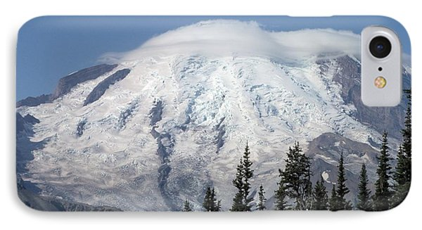 IPhone Case featuring the photograph Mt. Rainier In August 2 by Chalet Roome-Rigdon