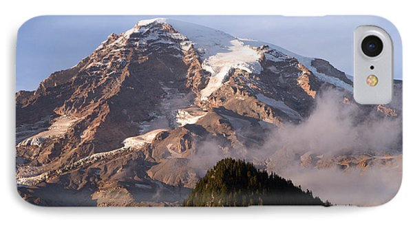 Mt Rainier Sunset IPhone Case by Scott Nelson
