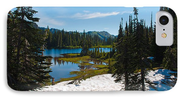 IPhone Case featuring the photograph Mt. Rainier Wilderness by Tikvah's Hope