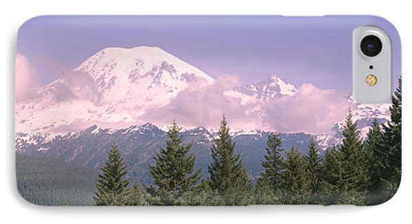 Mt Ranier Mt Ranier National Park Wa IPhone Case by Panoramic Images