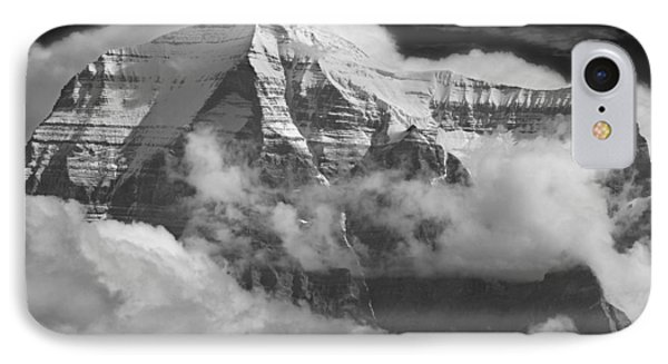 102496-mt. Robson Wreathed In Clouds IPhone Case