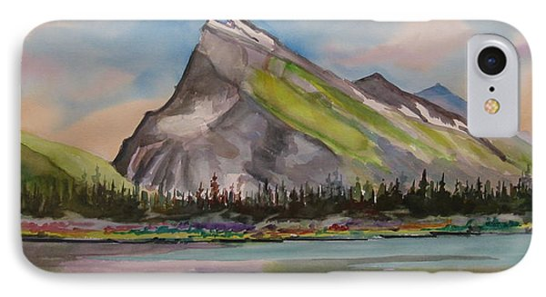 Mt. Rundle Phone Case by Mohamed Hirji