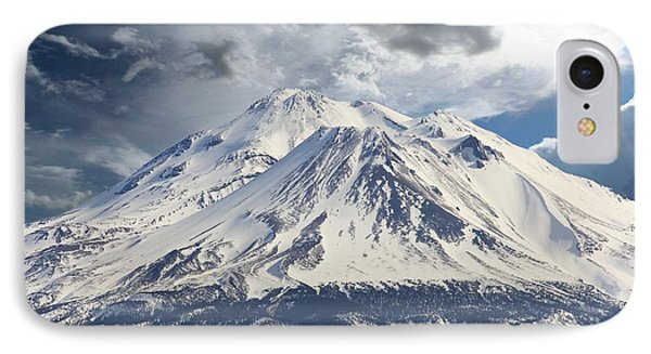 IPhone Case featuring the photograph Mt Shasta by Athala Carole Bruckner