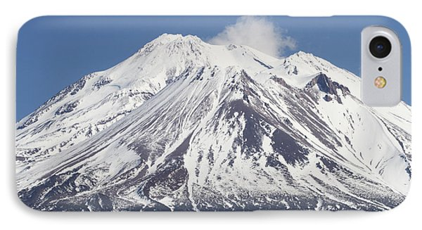 Mt Shasta California IPhone Case by Tom Janca