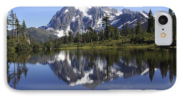 Mt Shuskan IPhone Case by Elvira Butler