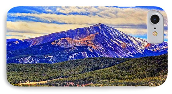 Mt. Silverheels II IPhone Case by Lanita Williams