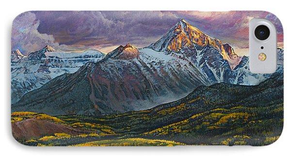 Mt. Sneffels Phone Case by Aaron Spong