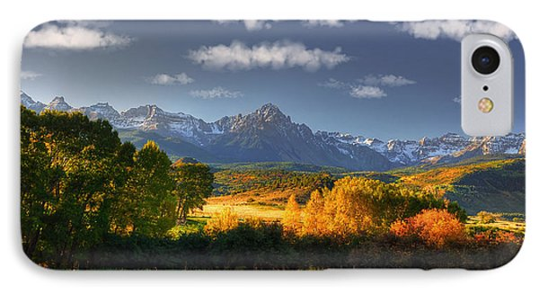 Mt Sneffels And The Dallas Divide IPhone Case by Ken Smith