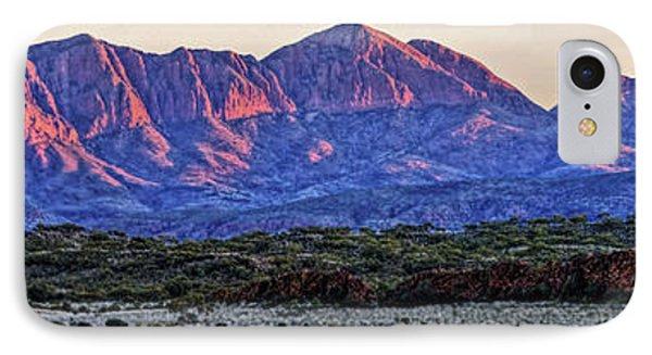 Mt Sonder Sunrise IPhone Case by Paul Svensen