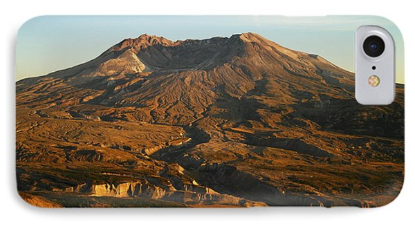 Mt St Helens From Johnsons Observatory Phone Case by Jeff Swan