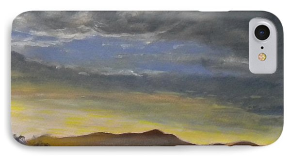 Mt Tam From Sausalito IPhone Case by Katie Horacek