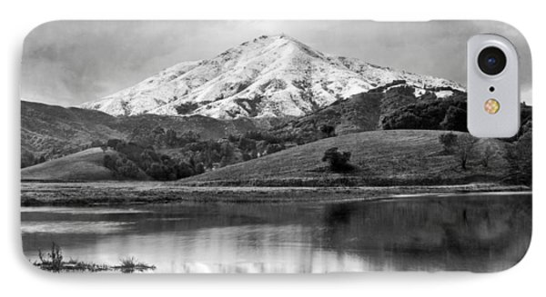 Mt. Tamalpais In Snow IPhone Case by Underwood Archives
