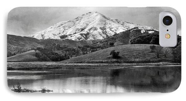 Mt. Tamalpais In Snow IPhone Case