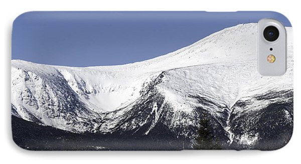 Mt Washington And Tuckerman's Ravine IPhone Case by Sharon Seaward