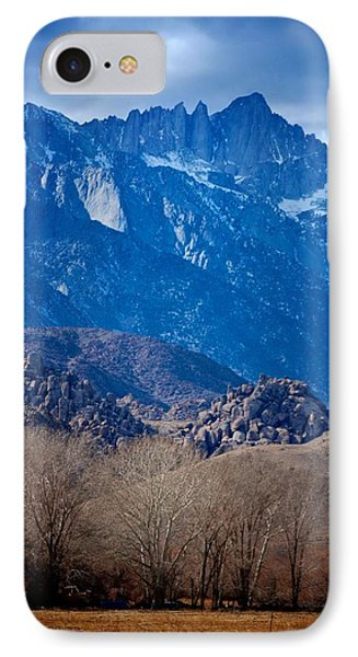 Mt. Whitney And Alabama Hills IPhone Case by Eric Tressler