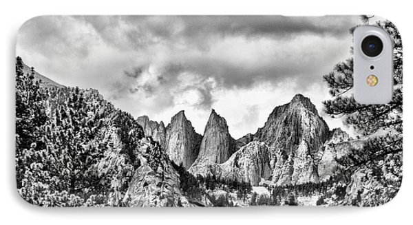 Mt. Whitney IPhone Case by Peggy Hughes